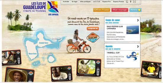 Pade d'accueil CTIG - Guadeloupe Grenat Tour
